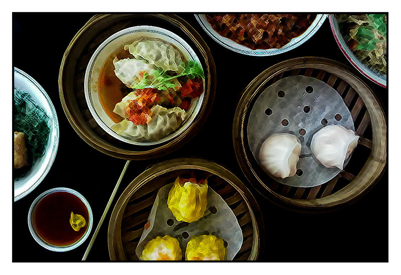Sun 26 Sep - Dimsum<br /> <br /> Sunday morning around the pool.  Dimsum for lunch at a place nearby and then afternoon pool again... relaxing indeed