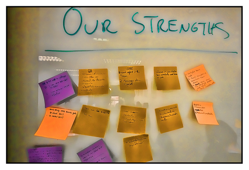 Tue 21 Sep - Employee voices<br /> <br /> Workshop with my Thai staff today. Company runs a employee survey every two years, and today we presented the results and worked on action plans on how to make our company an even better one.
