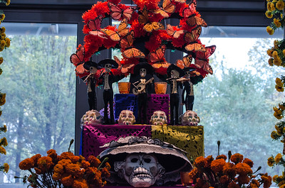From the Day of the Dead altar at the National Museum of the American Indian