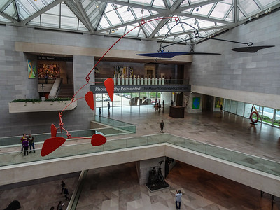 Love the atrium of the National Gallery of Art West Building.