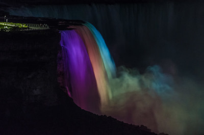 The Falls at night (from our hotel room!!)