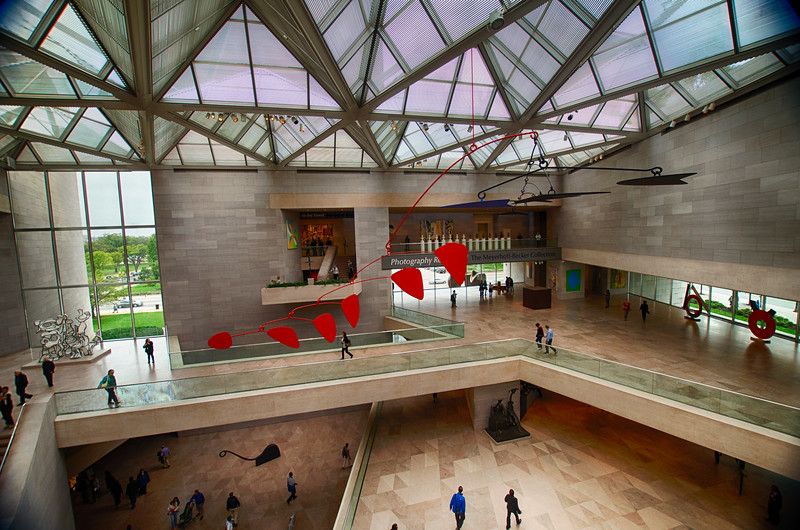 The National Gallery of Art reopened it's East Building today. Lots of great stuff and it's going to take me away to get through it