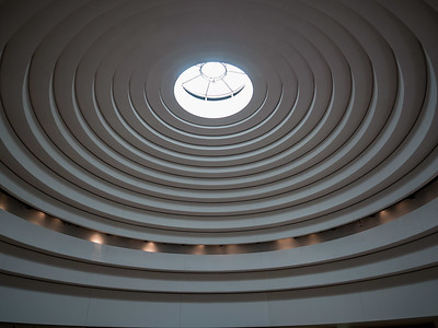 The ceiling at the National Museum of American Indian is one of my favorites