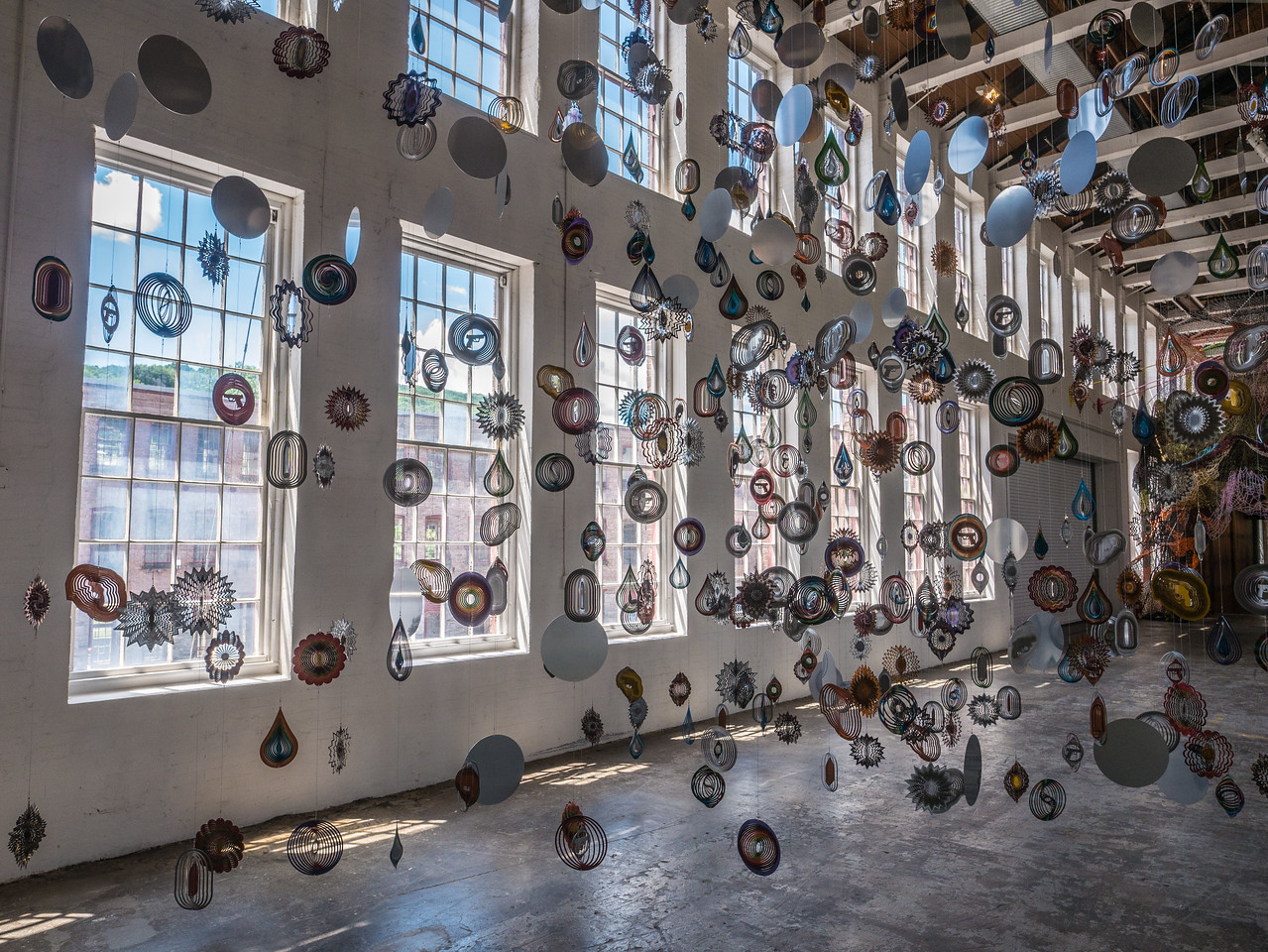 So glad I was able to make it back to Mass MoCA and Nick Cave's Until before we had headed off to California