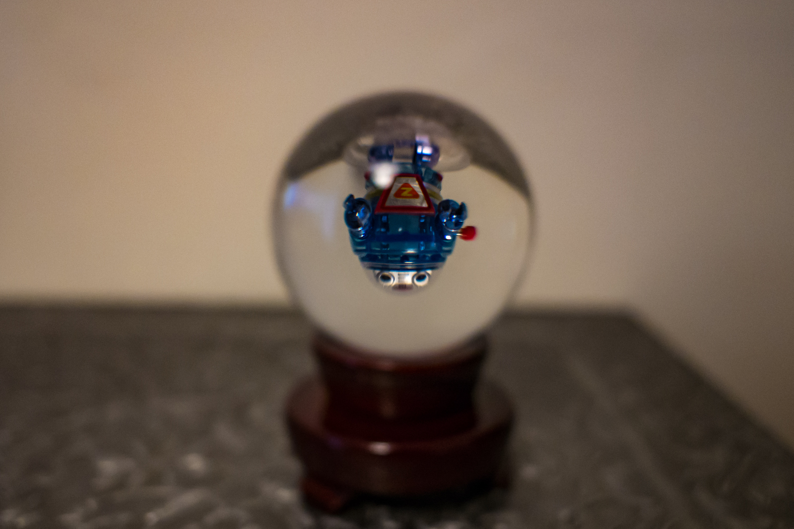 Revisiting my subject from two years ago. Thought crystal ball made it little different
