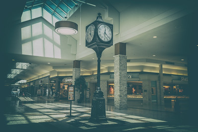 Discovered this old vintage town center clock. Pretty impressive