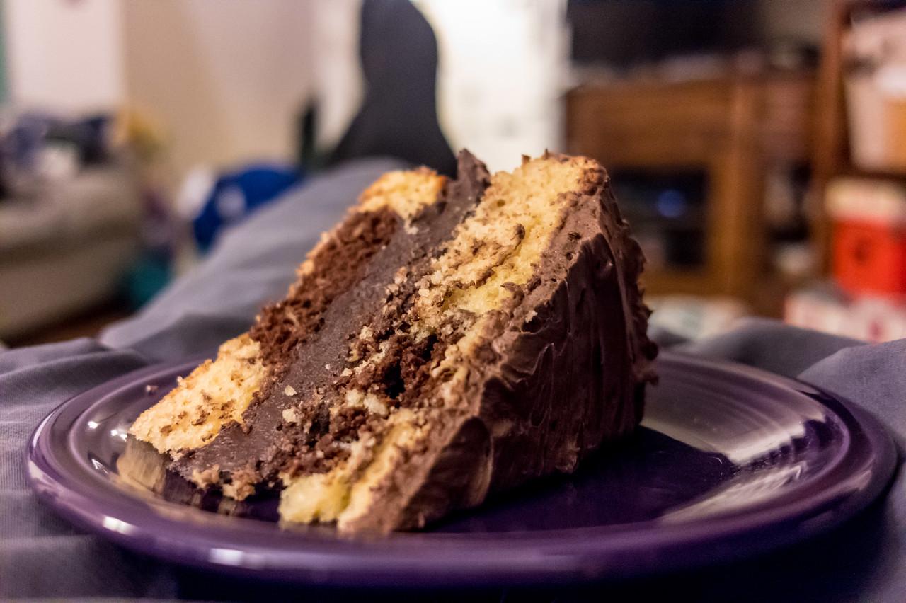 Birthday cake still tastes pretty good even when it's not your birthday anymore