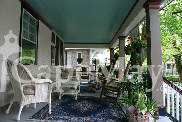 Porch of the Manse B&B