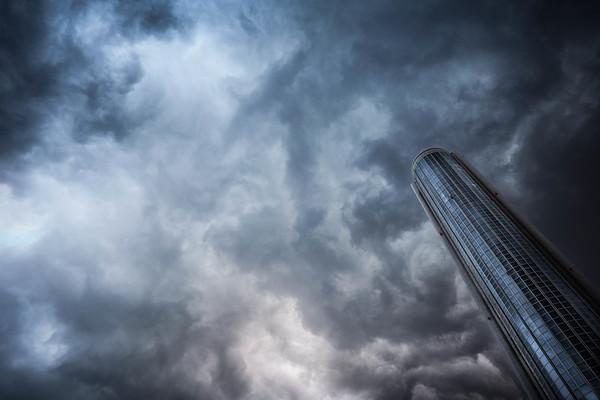Feb 11. Dramatic skies.