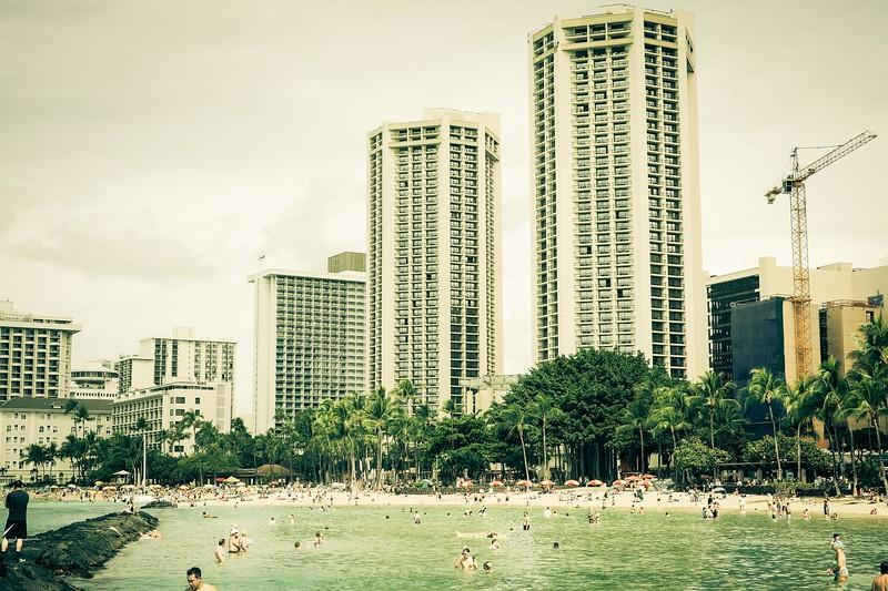 Feb 25. Waikiki Beach