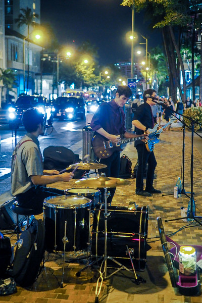 Feb 24. Street music