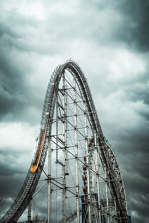 Feb 11. Rollercoaster ride.