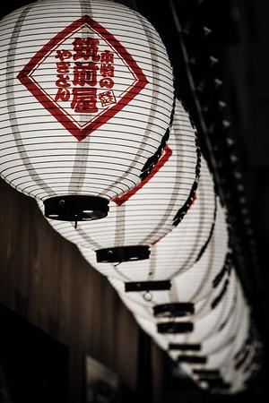 Feb 20. Chouchin - paper lanterns (提灯)