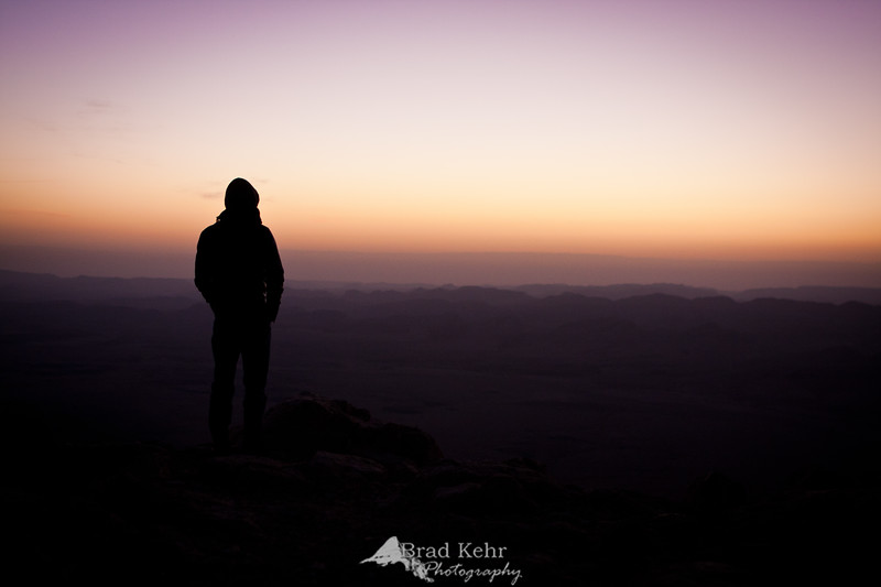 Awaiting Sunrise - on the edge of the giant Makhtesh in the Negev.