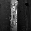 Narrow streets of Jerusalem.