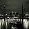 The Steel Bridge - Portland, OR.