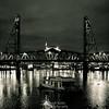 The Steel Bridge - Portland, OR.