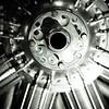 A Bentley Rotary WWI airplane engine.