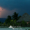 Lightning strike over a grass hut in Honduras.<br /> <br /> A lot of grain in the photo, but I really like how it added a little extra character to the photo.<br /> <br /> Thank you everyone for your comments on the last few photos. I really appreciate the feedback.