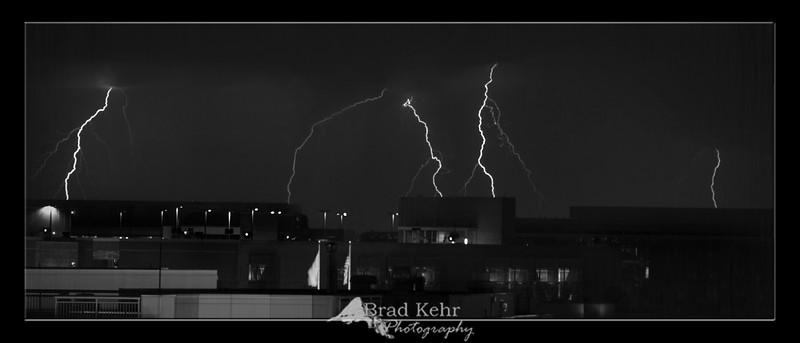 Lightning over Northeast D.C. - Washington, D.C.