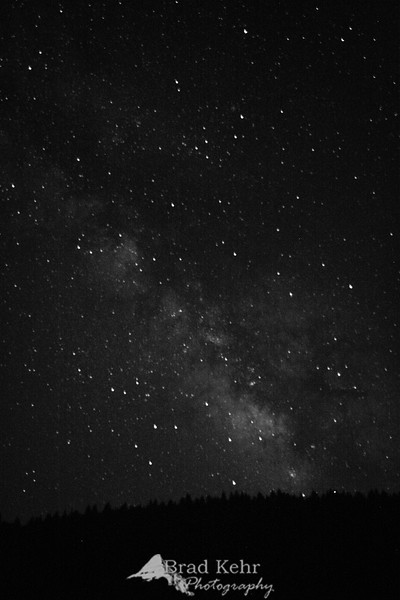The Milky Way over Southern Oregon.