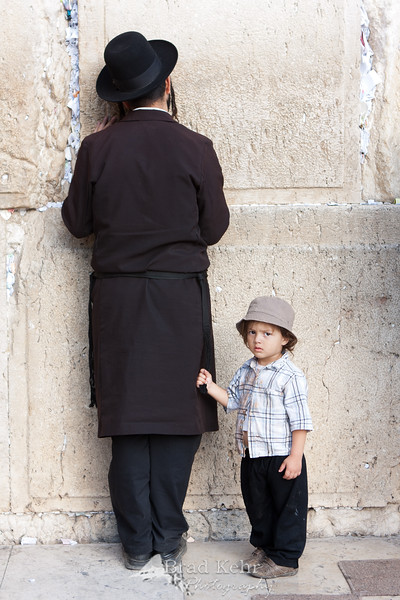 Prayers at Western Wall 10.28.2011