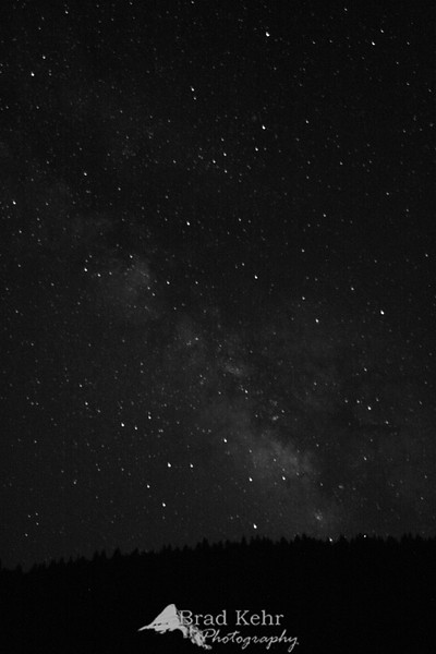 The Milky Way - as seen from Southern Oregon.<br /> <br /> Done with finals in three days - will finally get a chance to do some serious shooting again.