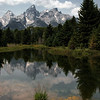 The Grand Tetons in Wyoming. Some of my first real work with landscapes.