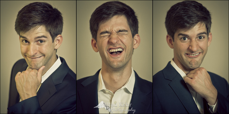 That moment you realize you just got horrible school photos for headshots...<br /> <br /> Outtakes from a recent portrait session.