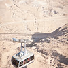 The Cable Car up to Masada - take the snake path, it is far more impressive and worthwhile.