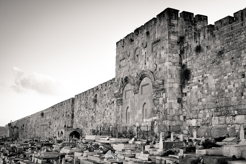 The Golden Gate - Jerusalem.