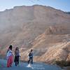 Finishing the Snake Path - Masada, Israel.