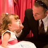 The flowergirl and daddy. A quiet moment during the formal pictures.