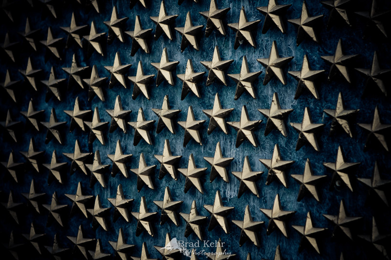 Remember those today who have given the ultimate sacrifice and reflect on what you have both gained and lost in their heroism.<br /> <br /> Wall of Stars at the WWII Memorial - Washington, D.C.