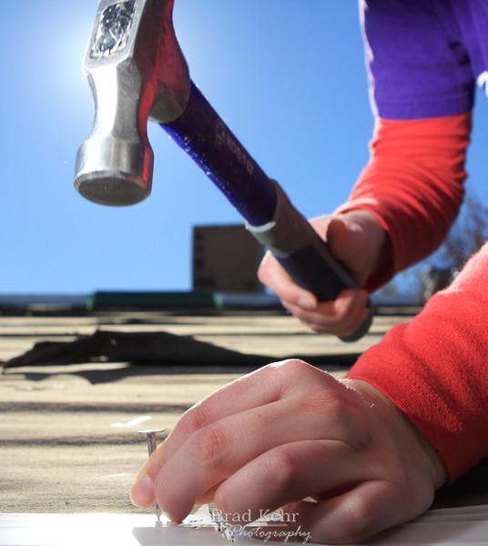 Hammer and Nail - Habitat for Humanity Build - Washington, D.C.