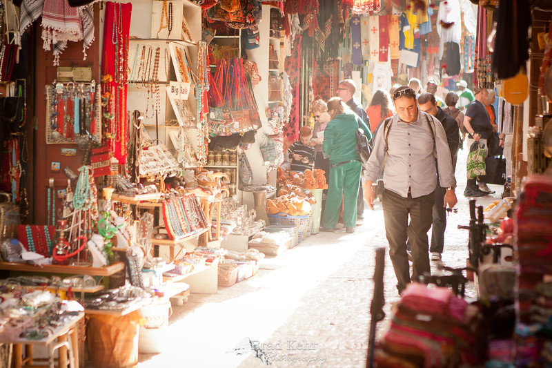 In the Arab markets - Jerusalem, Israel.