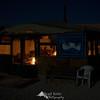 Camping in the desert - modern Bedouin style.
