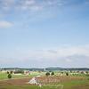 Overlooking Gettysburg National Battlefield and Gettysburg, Pennsylvania.