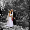 Bride and Groom at the Water's Edge - Harrisburg, Pennsylvania.<br /> <br /> This was a bit of an experimental shot and post processing. I would love any constructive criticism of the technique and presentation. Thanks.