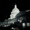 National Capitol Building at Night - Washington, DC.