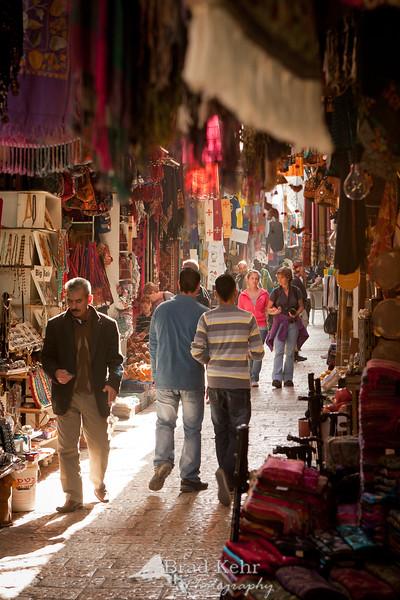 Market in the Christian Quarter, Jerusalem.