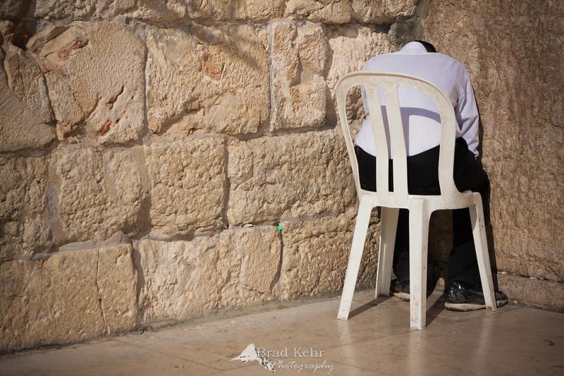 Prayers at Western Wall 10.28.2011