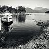 The boat into the wild. British Columbia, Canada.