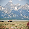 The Tetons in Summer - Wyoming.