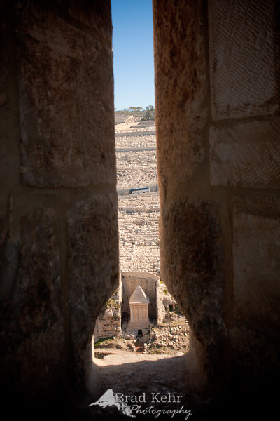 A view from the Temple Mount - Jerusalem.