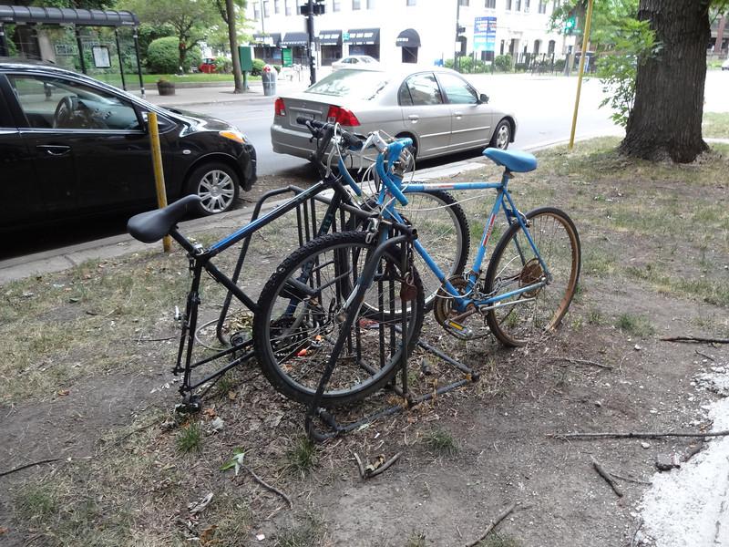 Abandoned bikes, Hyde Park