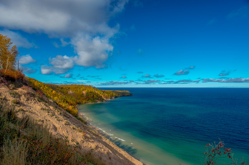 Autumn View of Au Sable Point