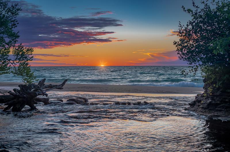 Sunset at Hurricane River