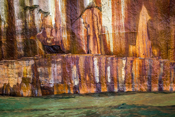 Varnish on the Cliff