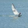 5 may 2012  1h52pm - Hobbie cat sailing at Blue Mesa (Gunnison Colorado )